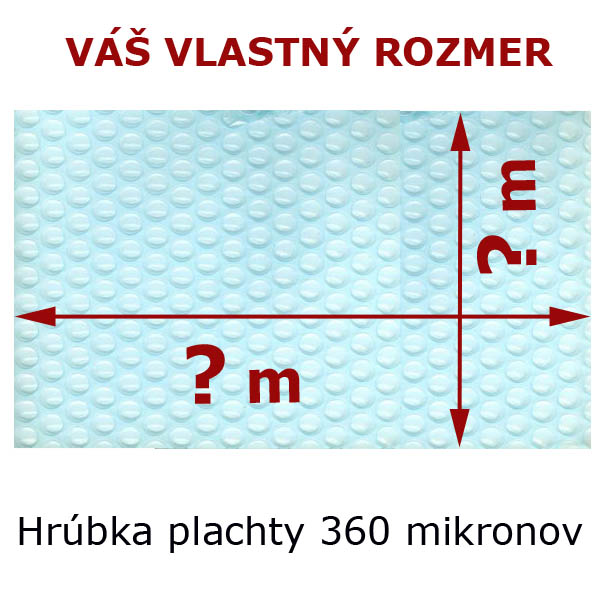 4a8f9fcaefcac Solárna plachta obdĺžnik 360 mic transparent