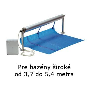 Naviják na solárnu plachtu elektrický 3,7 – 5,4 m